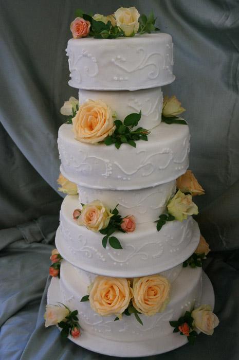 Hochzeitstorte-4-Etagen
