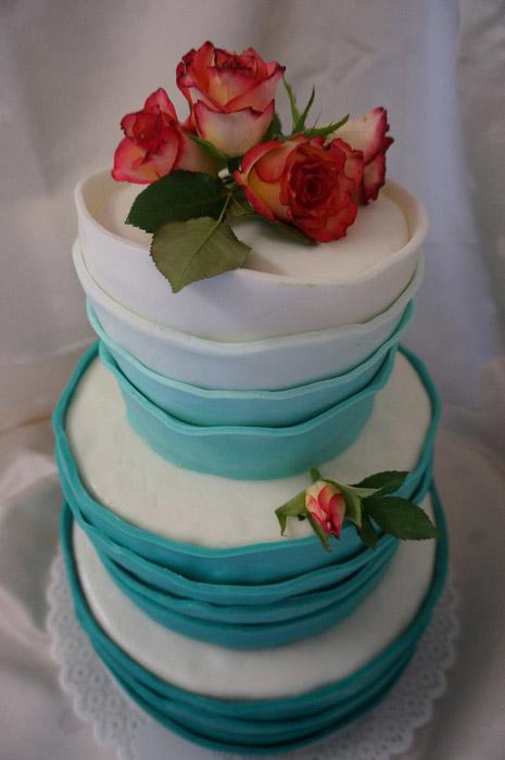 Hochzeitstorte-Farbe