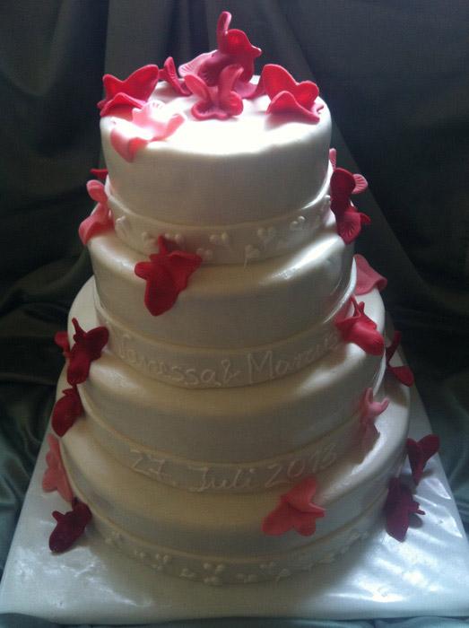 Hochzeitztorte-Ladybird