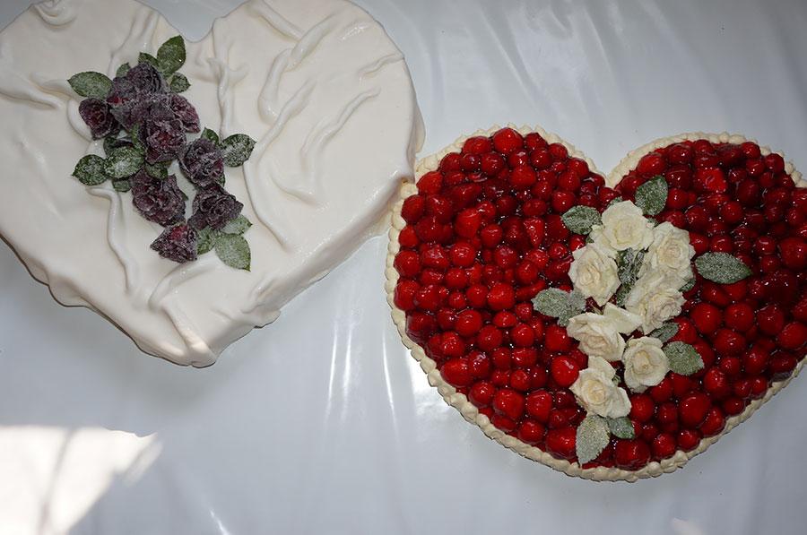 Hochzeitstorten Herzen